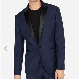 NEW Express men size 36S tuxedo suit jacket navy